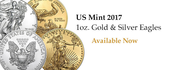 Buy 2017 1oz Gold and Silver Eagles